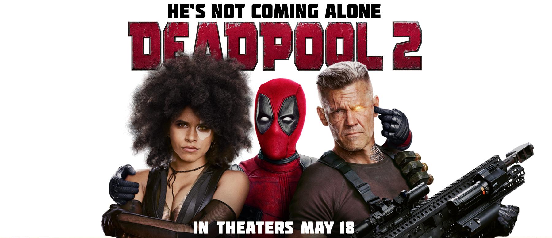 """""""Deadpool 2"""" entra em cartaz na Rede Cinesystem com promoções exclusivas"""