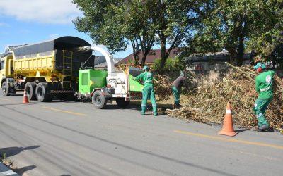 Coleta de Resíduos Verdes é otimizada com novo triturador
