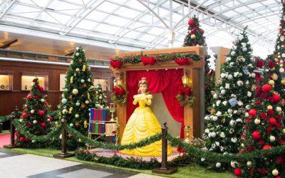 """Shopping Estação recebe o mundo mágico de Natal das Princesas da Disney e """"Carros"""" da Disney•Pixar"""