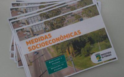 Prefeitura de Pinhais elabora cartilha online com medidas socioeconômicas