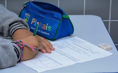 Rede municipal de ensino de Pinhais retoma atividades não presenciais