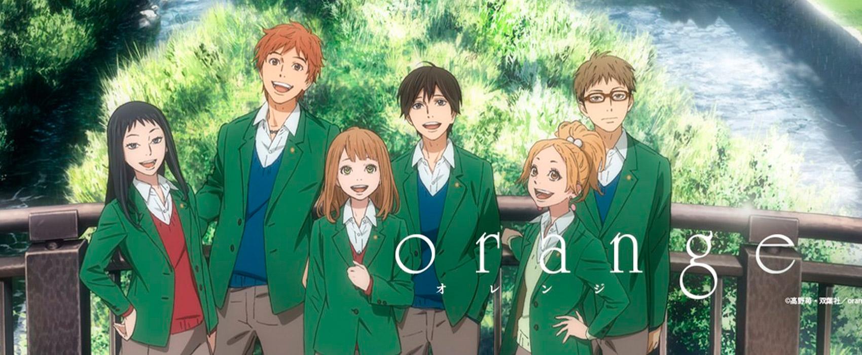 Resultado de imagem para Orange anime