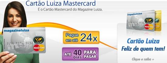 CARTÃO DE CRÉDITO MAGAZINE LUIZA A loja