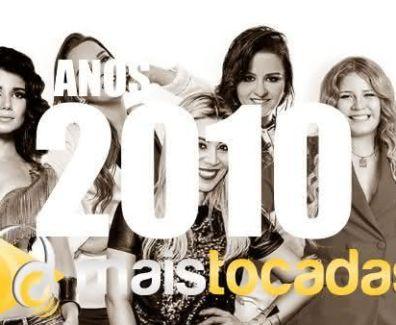anos 2010 mais tocadas