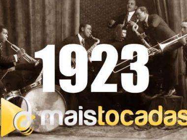 1923 mais tocadas