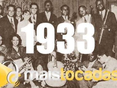 1933 mais tocadas
