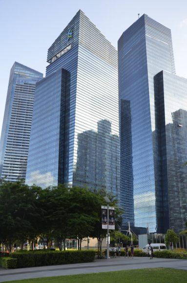 Singapore's financial centre