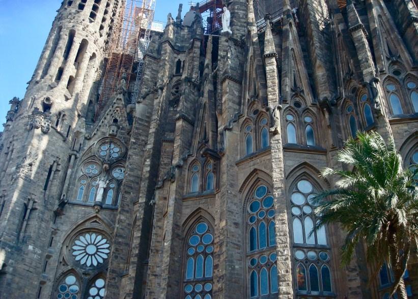 Detalhes da igreja Sagrada Família