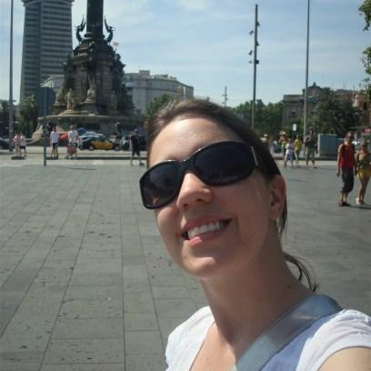 Monumento à Cristóvão Colombo em Barcelona