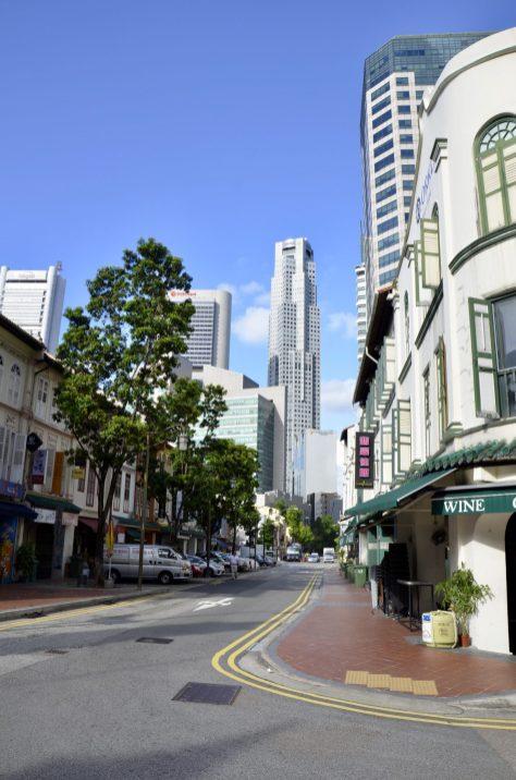 Ruas de Singapura