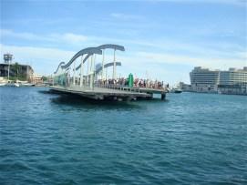 Ponte móvel Rambla de Mar