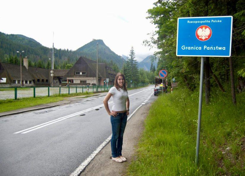 Montanhas Tatras; Fronteira entre a Eslováquia e a Polônia