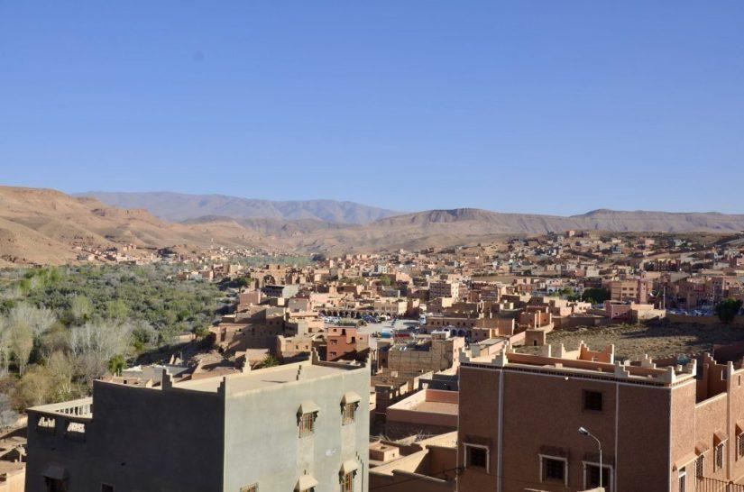 Cidade de Boumalne Dades, Marrocos