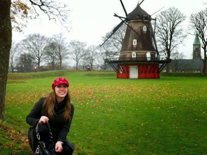 Moinho de vento em Copenhague
