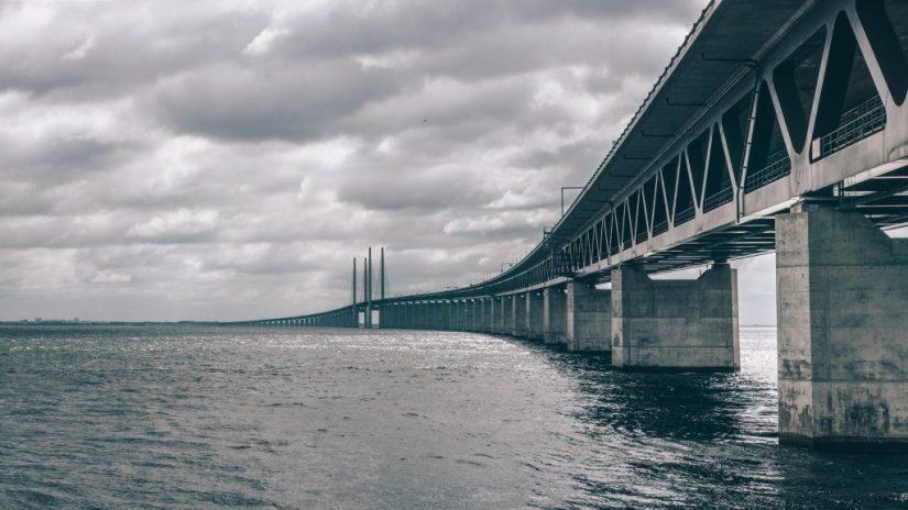 Ponte Oresund, ponte que liga Copenhague à Suécia