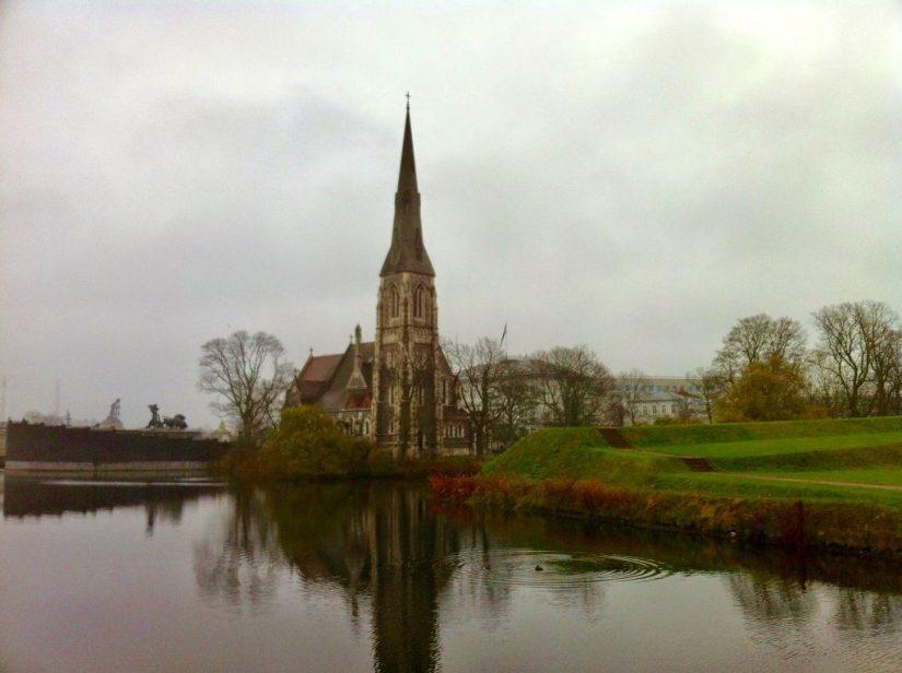 Igreja de Saint Albans em Copenhague