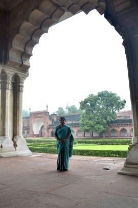Mulher indiana, sári, Índia