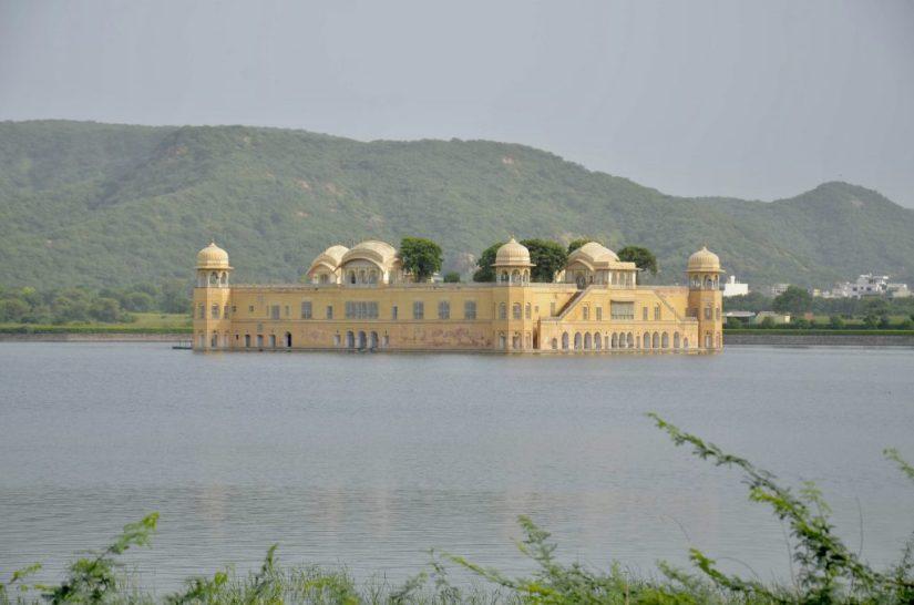 Palácio Jal Mahal em Jaipur
