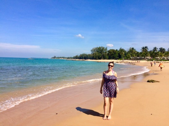 Praia de Khao Lak na Tailândia