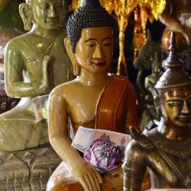 Templo Wat Phnom, no Camboja