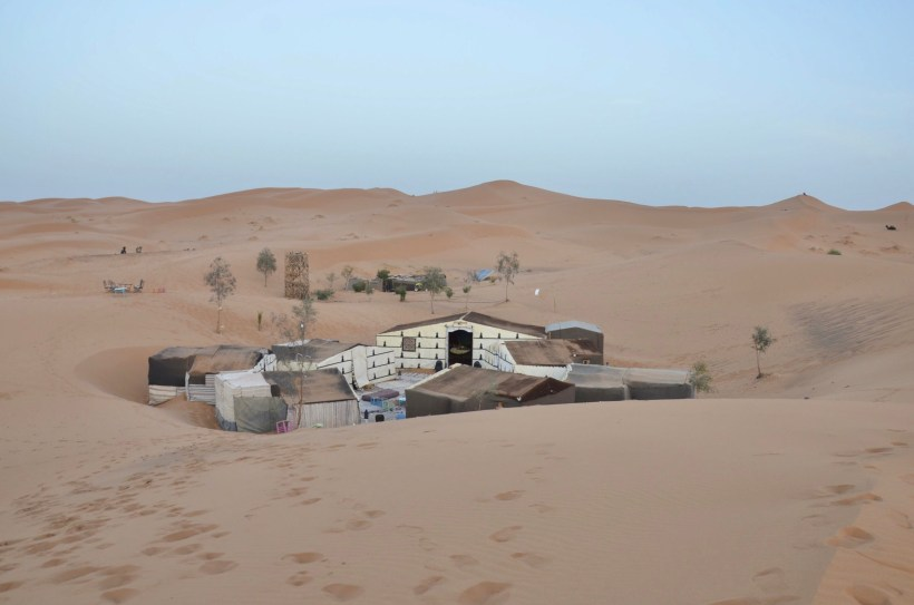 Acampamento, Marrocos, Desert Merzouga