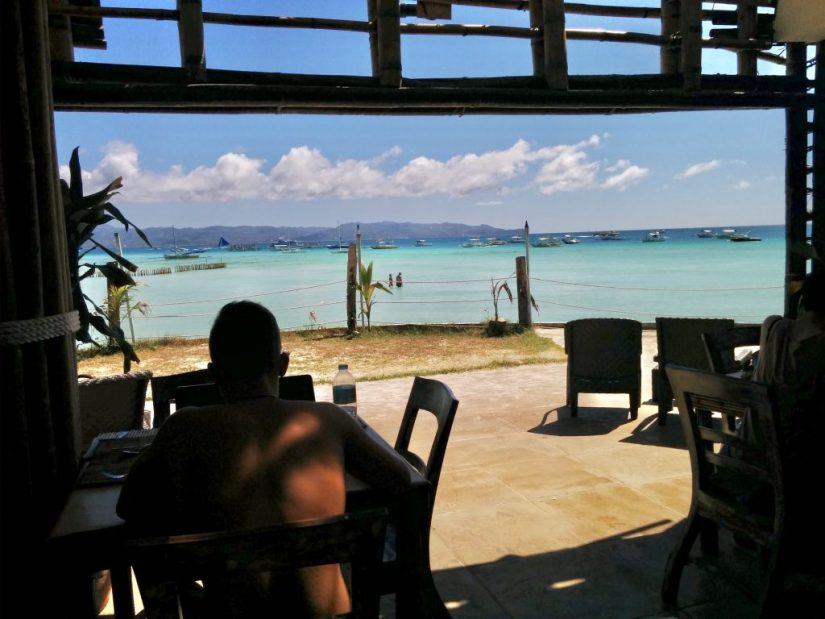Restaurante Steve's Cliff, ilha paradisíaca das Filipinas