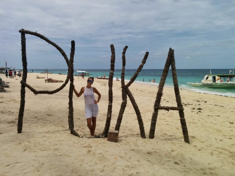 Puka Beach em Boracay, Filipinas