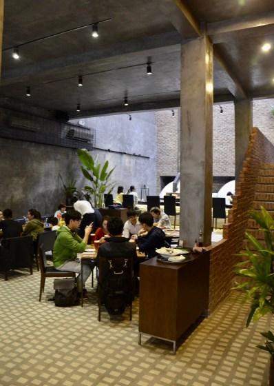 Pizza 4P's Bao Khanh Alley