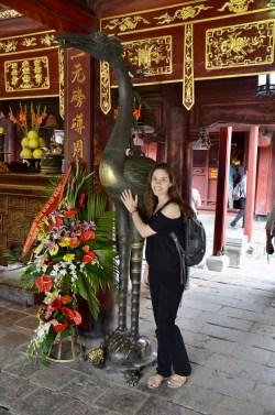 Templo da literatura em Hanoi, Vietnã