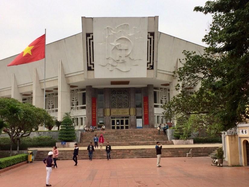 Museu Ho Chi Minh em Hanoi, no Vietnã