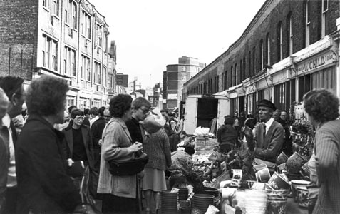 East London in the past