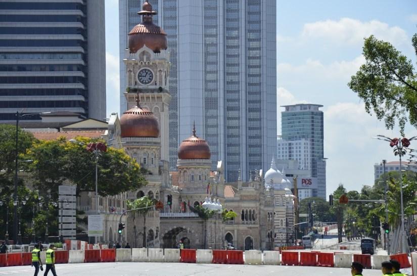 Sultan Abdul Samad building na Malásia