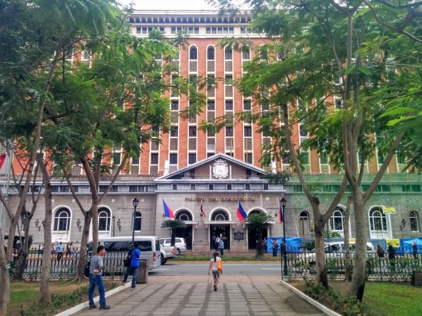 Palacio del Gobernador, Manila