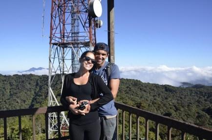 Lookout Tower, Mount Brinchang, Malaysia