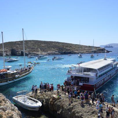 Pier em Comino, Malta