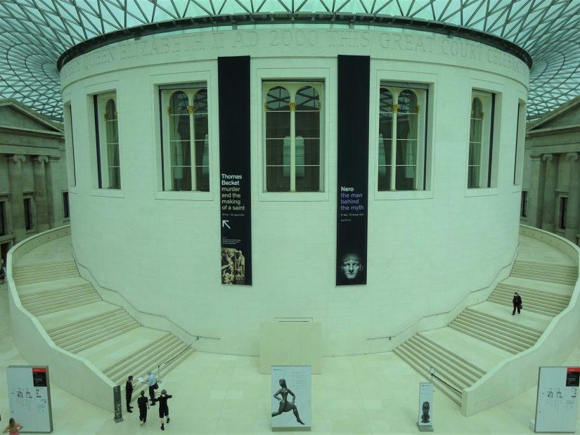 Museu Britanico em um dia - Elizabeth II Great Court