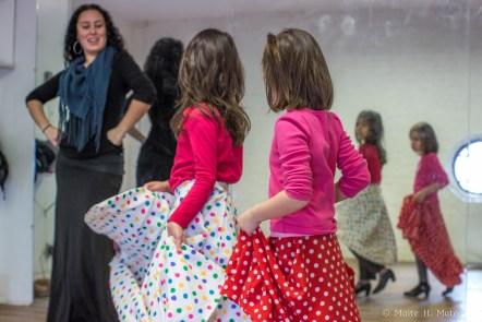 Sonia durante una de sus clases en el Centro Español de Queens en Nueva York