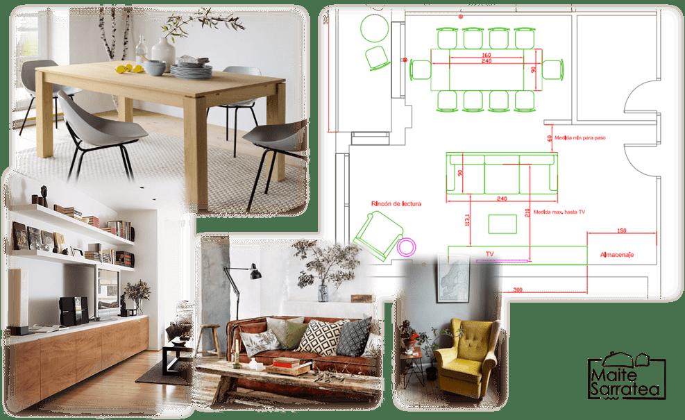 Pack básico + Pack Deco para una nueva casa de 100 m2 en Barcelona