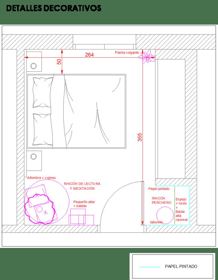 18. Renovar una habitación sin cambiar mobiliario