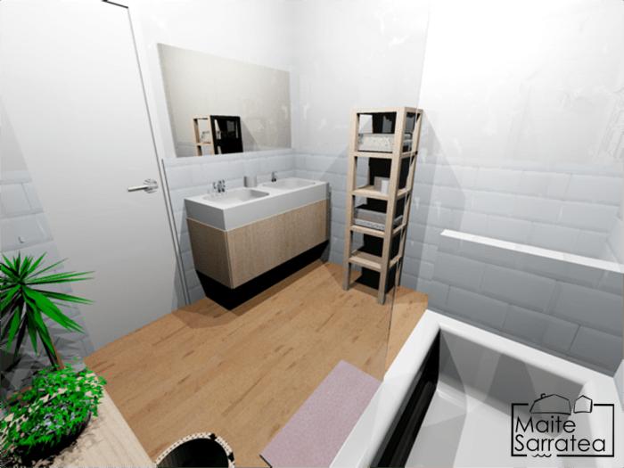 Cómo convertir 2 baños poco prácticos en 1 2