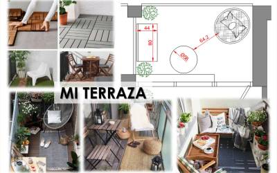 Se práctico y aprovecha el balcón o terraza de tu casa para sobrevivir a esta crisis