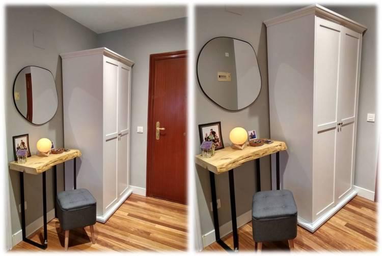 cómo decorar un recibidor 8