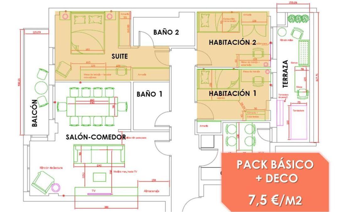 Como decorar 3 habitaciones muy distintas en la misma casa y conseguir un hogar armonioso