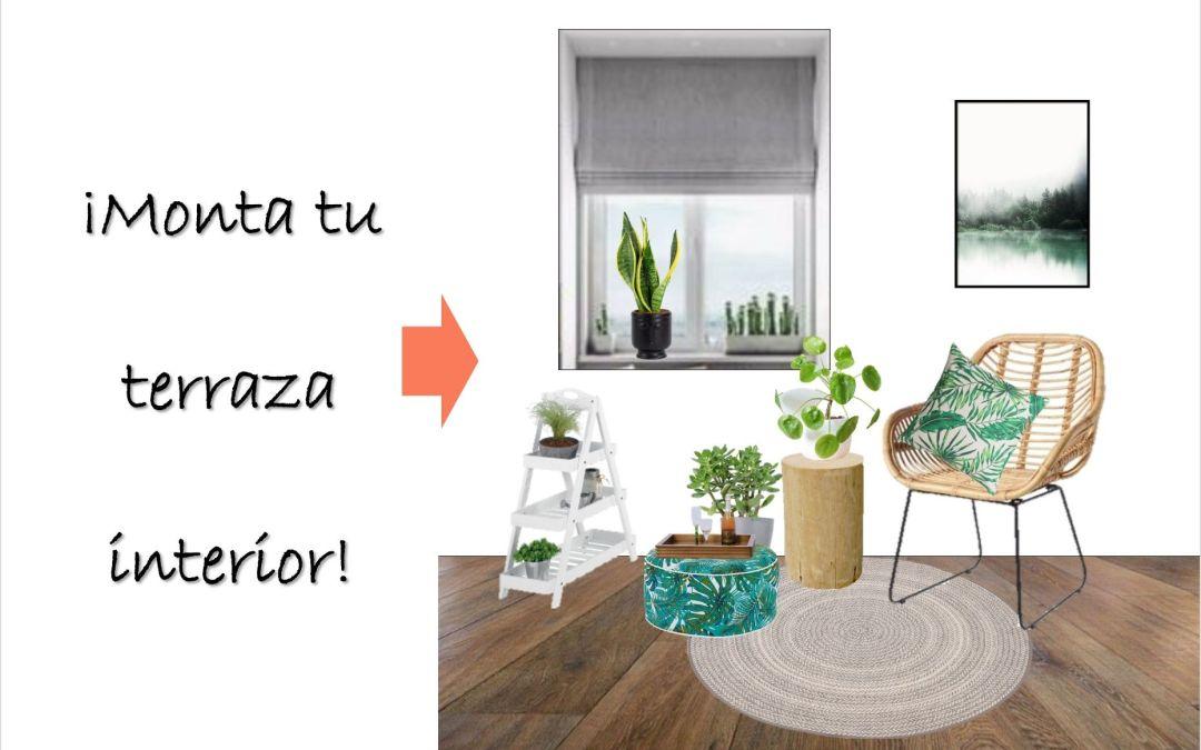 Si no tienes terraza ni balcón móntalo dentro de casa