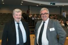 Francis Attrazic Président de l'AFMR, Claude IZARD Vice Président