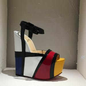Mondrian soulier Louboutin exposition