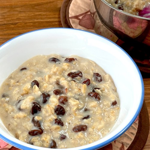 Dad's Porridge (plant-based, gluten-free)