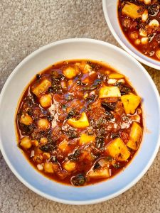 Moroccan Vegetable Tagine (plant-based, gluten-free)