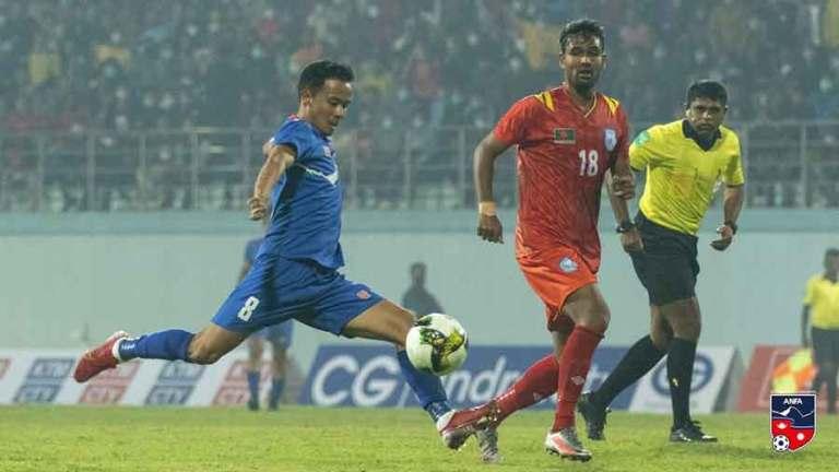नेपाल फाइनलमा बंगलादेशसँग भिड्ने