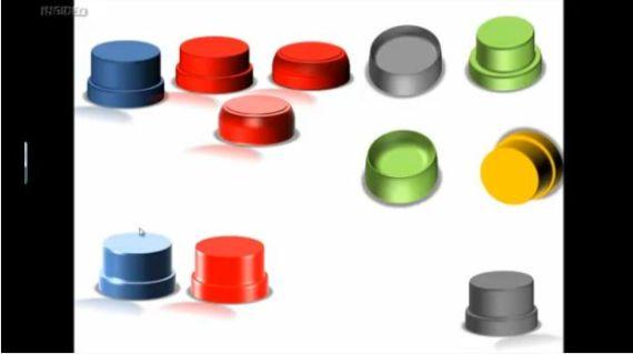 Powerpoint 2007 créer un bouton 3D V1